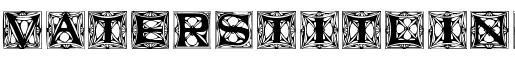Visualizza dettagli per il font  VatersTitlingCaps.ttf