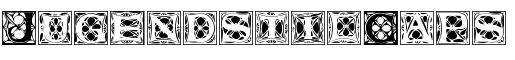 Visualizza dettagli per il font  JugendstilCaps.ttf