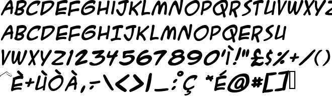 GoldenWeb it - True Type Font download gratis - A C M E