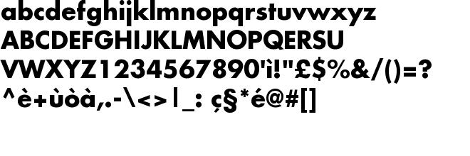GoldenWeb it - True Type Font download gratis - Futura-Bold ttf